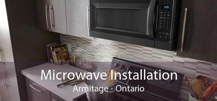 Microwave Installation Armitage - Ontario