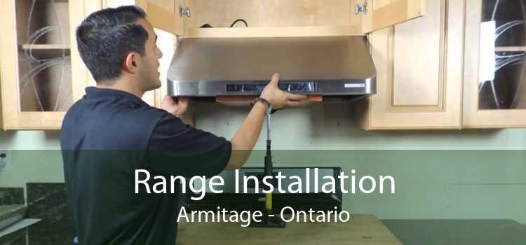 Range Installation Armitage - Ontario