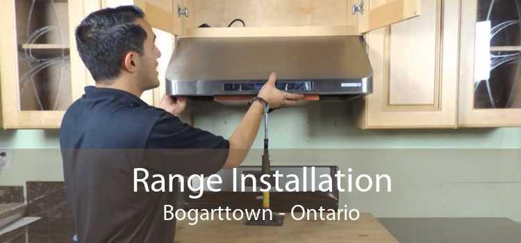 Range Installation Bogarttown - Ontario