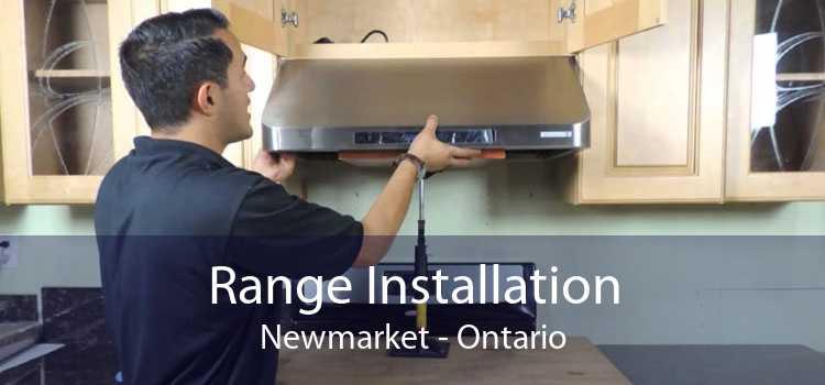 Range Installation Newmarket - Ontario